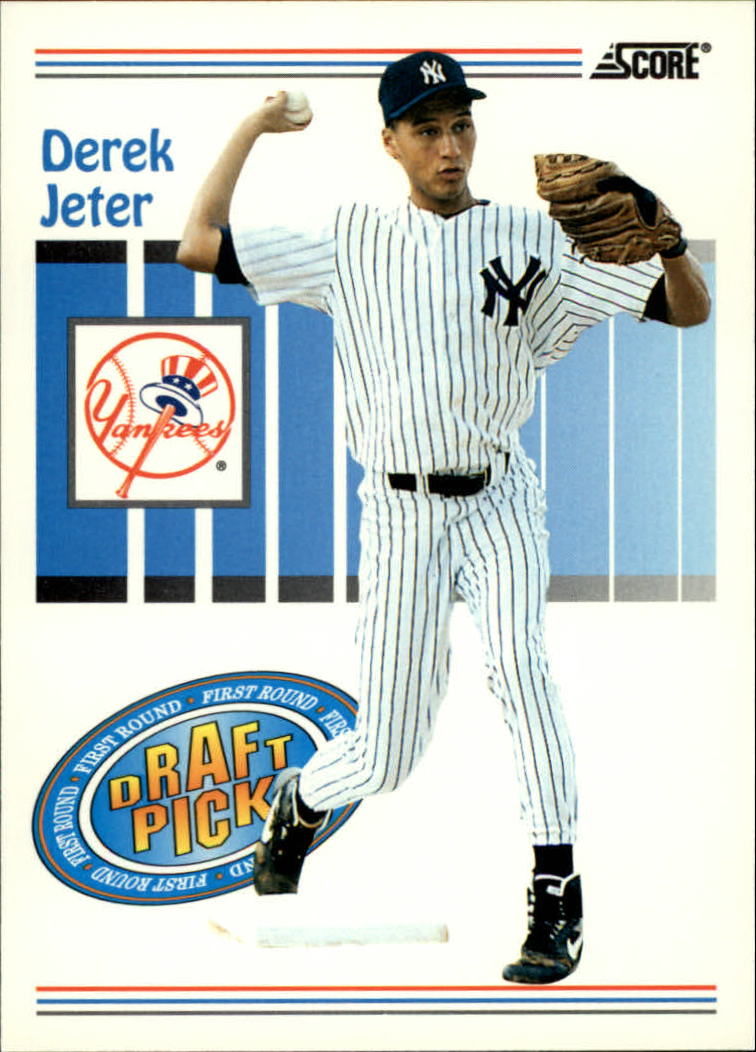1993 Score #489 Derek Jeter RC