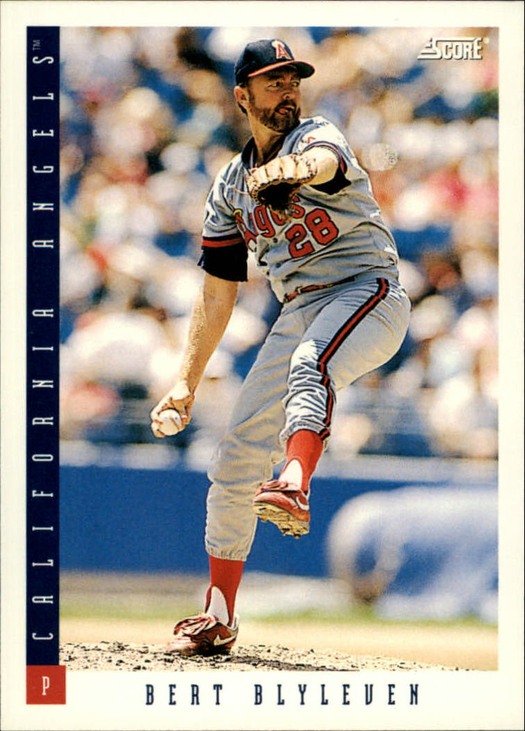 1993 Score #577 Bert Blyleven UER/(Should say 3701/career strike