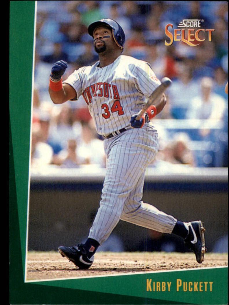 1993 Select #4 Kirby Puckett