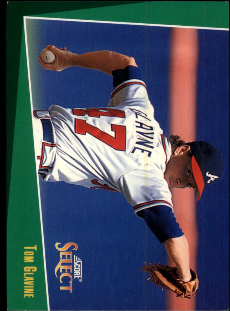 1993 Select #7 Tom Glavine
