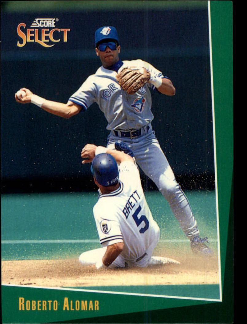 1993 Select #8 Roberto Alomar