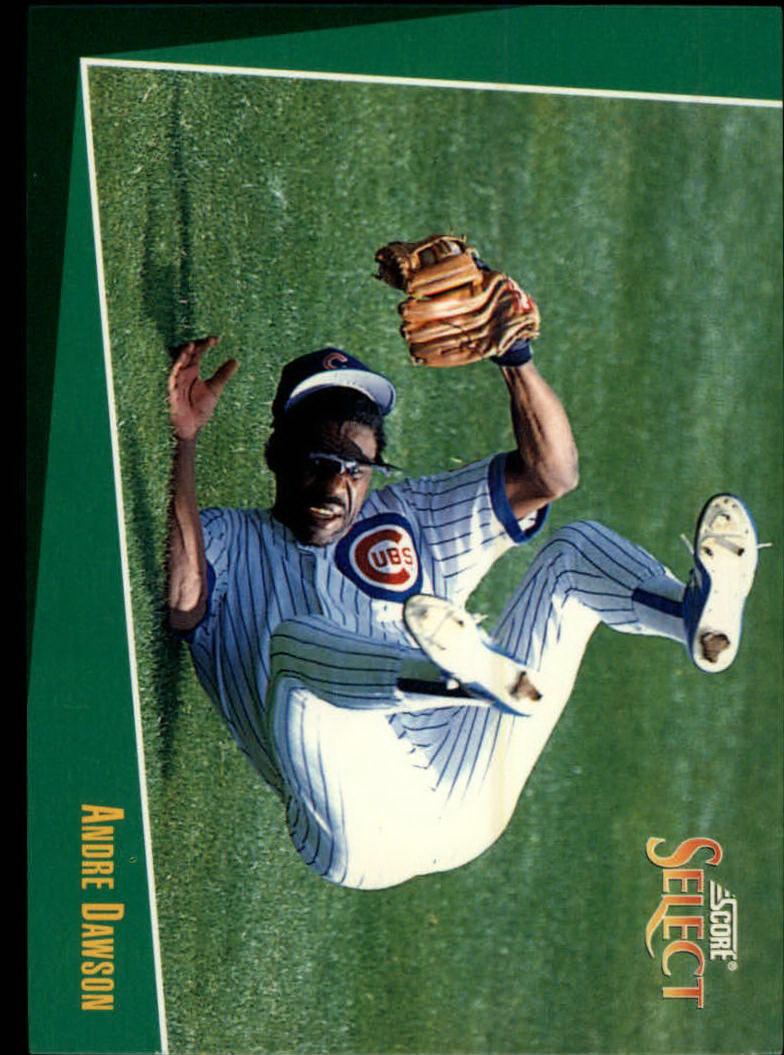 1993 Select #9 Andre Dawson