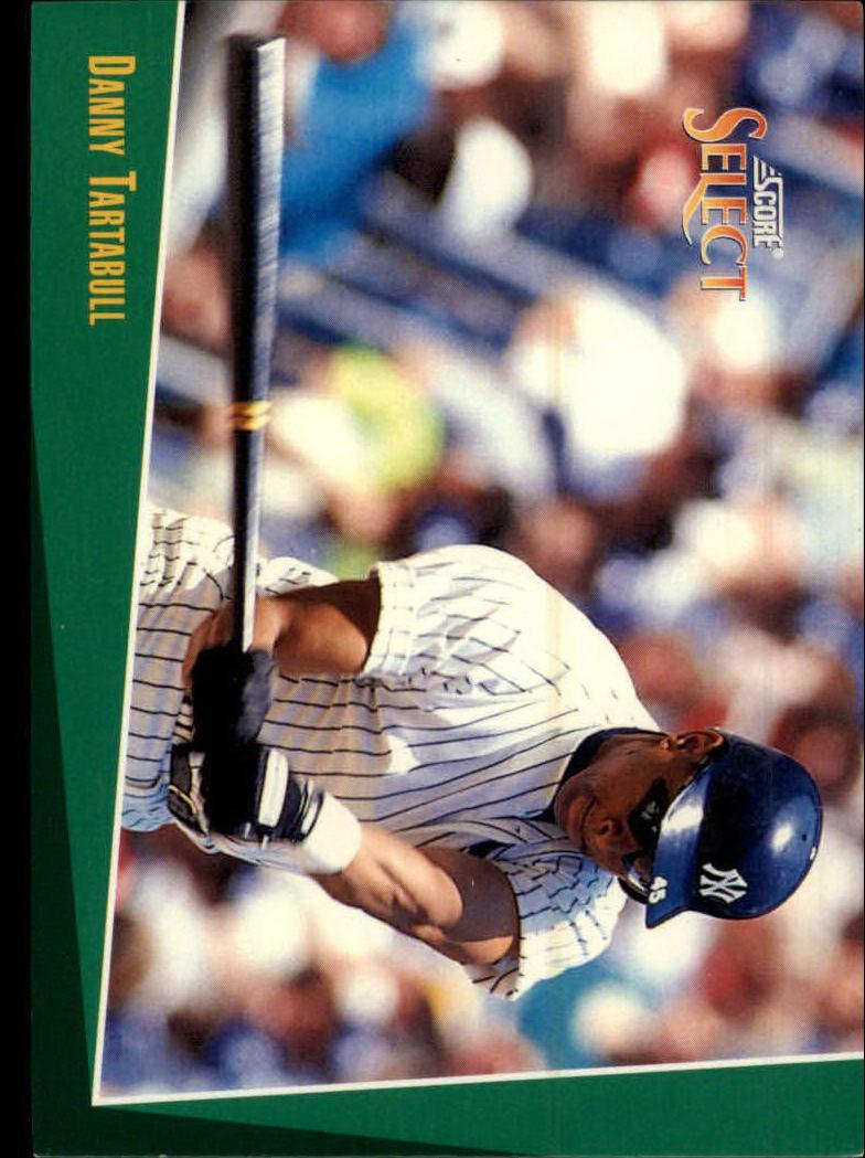 1993 Select #12 Danny Tartabull