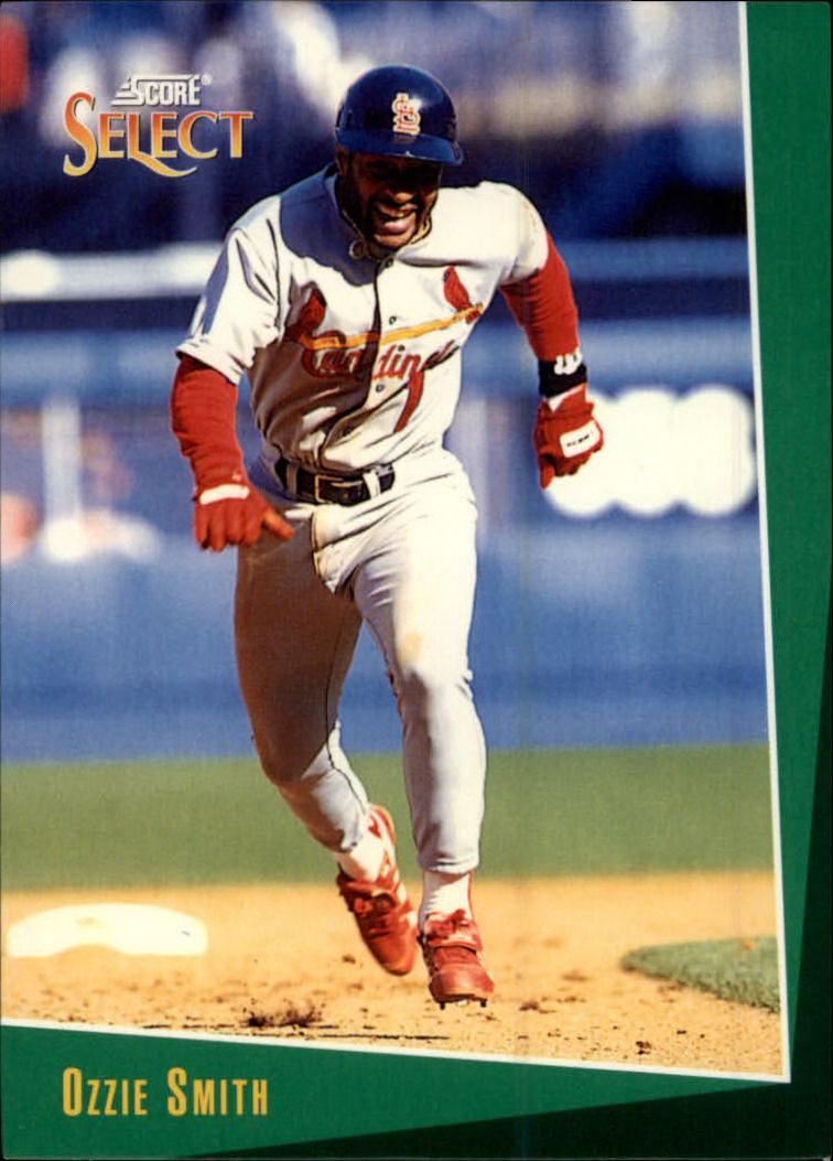 1993 Select #15 Ozzie Smith