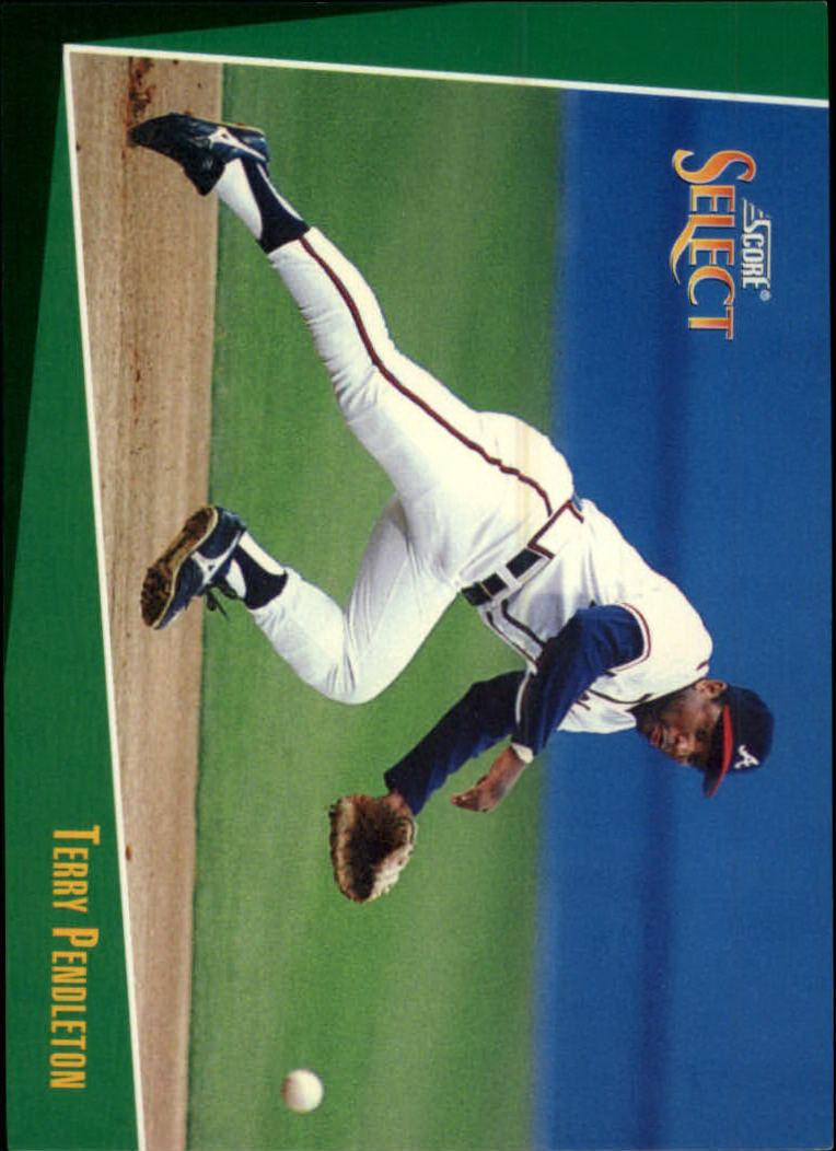 1993 Select #17 Terry Pendleton