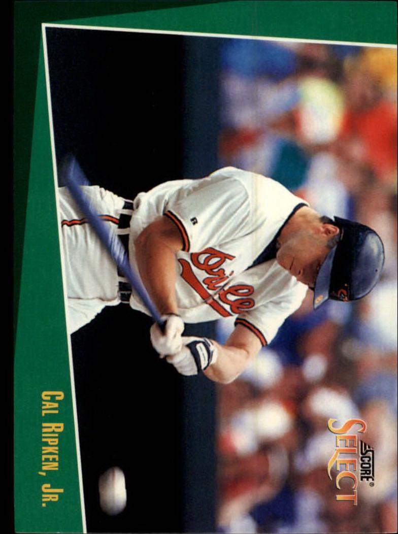 1993 Select #18 Cal Ripken