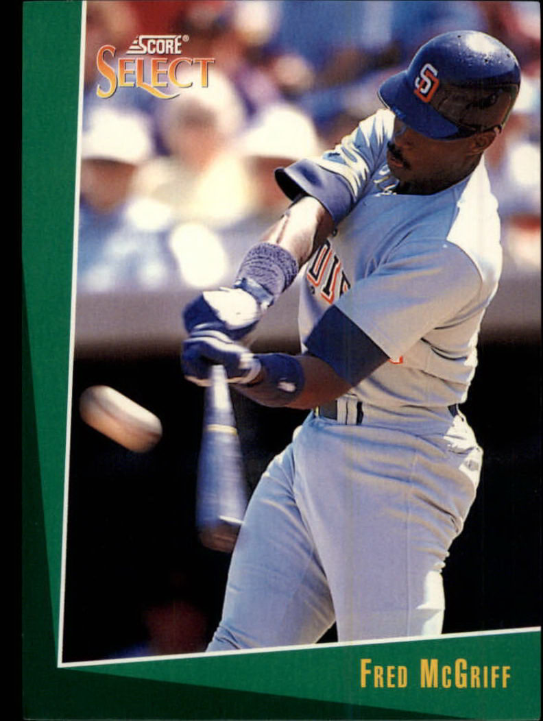 1993 Select #19 Fred McGriff