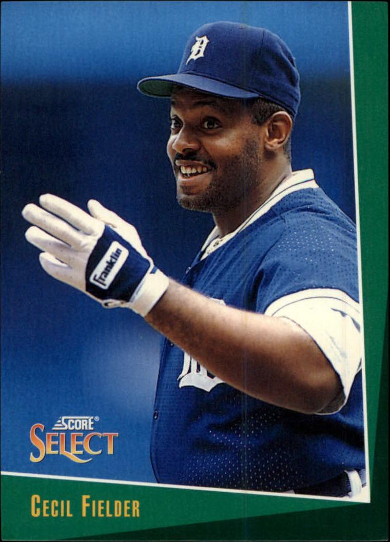 1993 Select #20 Cecil Fielder