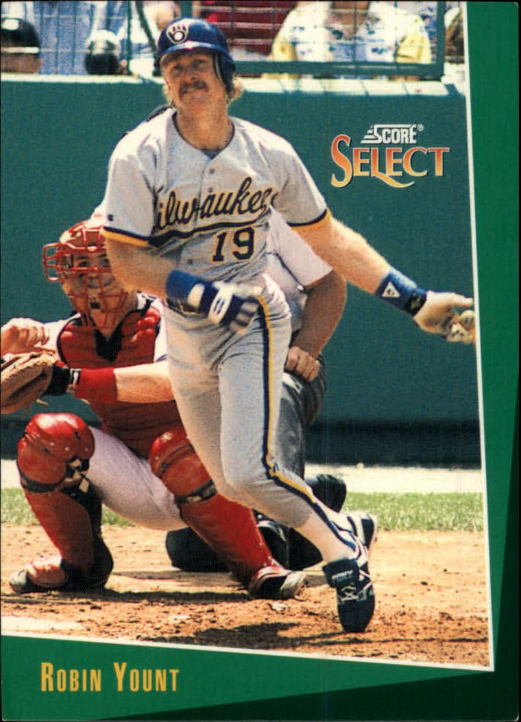 1993 Select #22 Robin Yount
