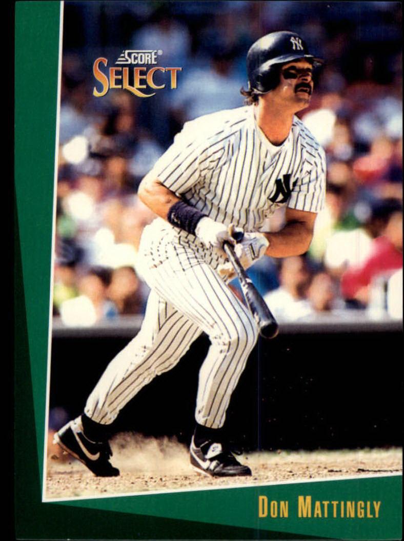1993 Select #24 Don Mattingly
