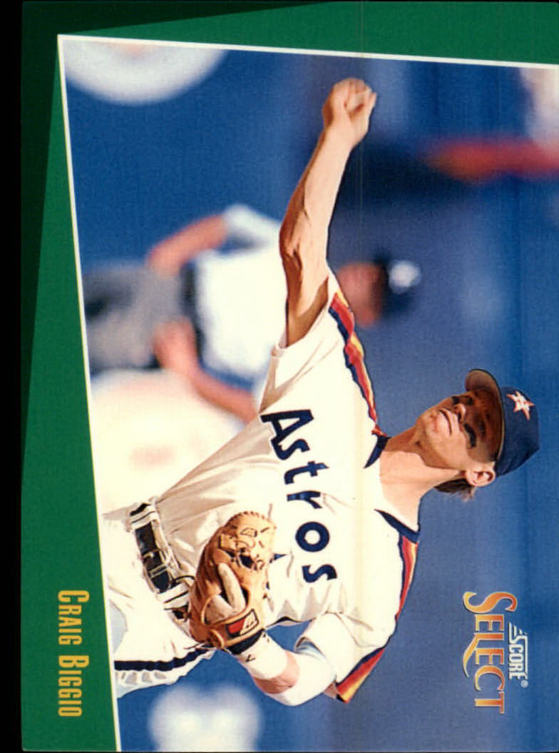 1993 Select #25 Craig Biggio