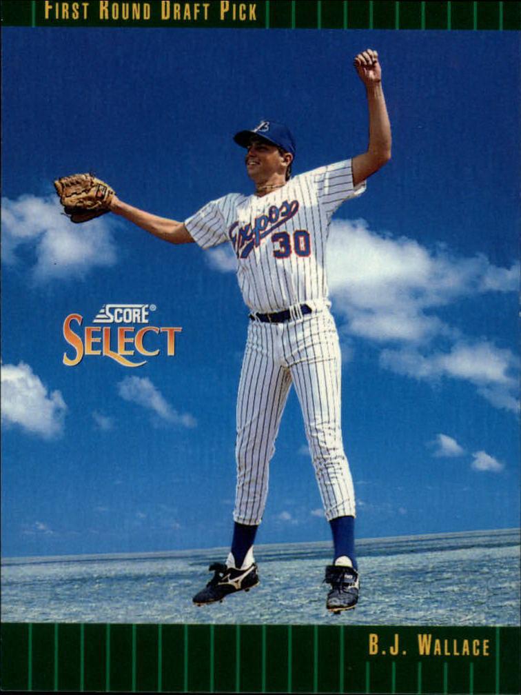1993 Select #310 B.J.Wallace