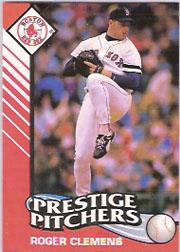 1993 Kenner Starting Lineup Cards #9 Roger Clemens PP