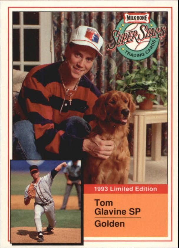 1993 Milk Bone Super Stars #2 Tom Glavine