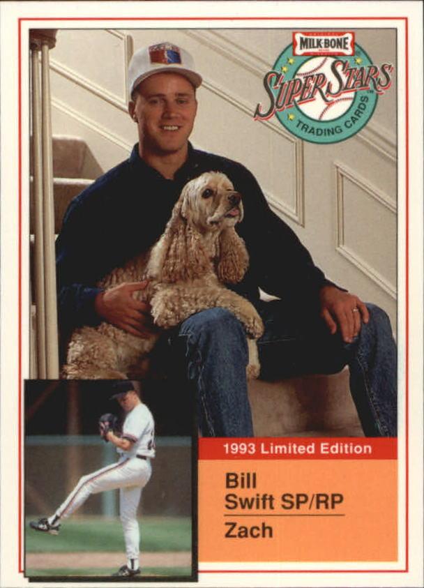 1993 Milk Bone Super Stars #5 Bill Swift
