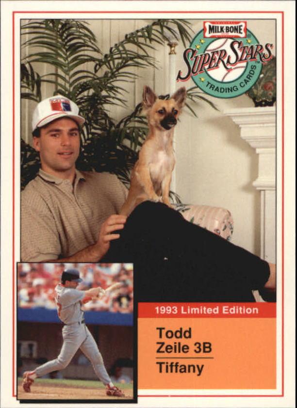 1993 Milk Bone Super Stars #10 Todd Zeile