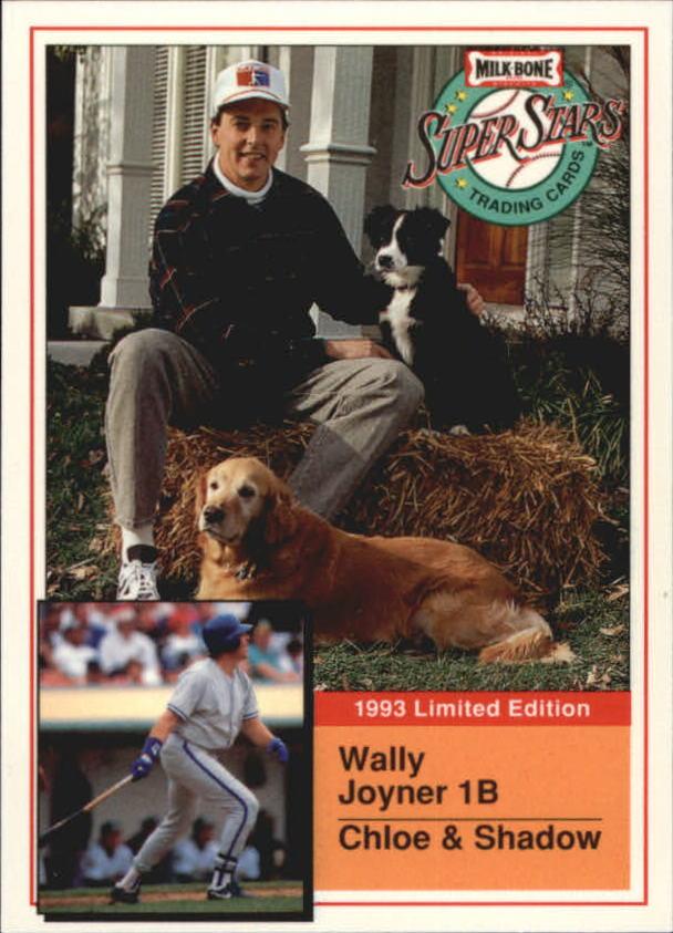 1993 Milk Bone Super Stars #11 Wally Joyner