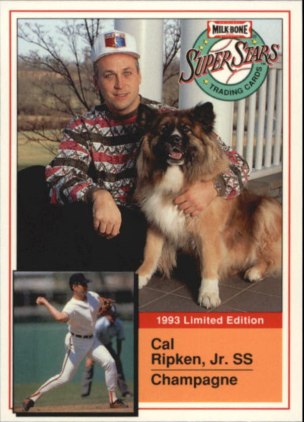 1993 Milk Bone Super Stars #12 Cal Ripken