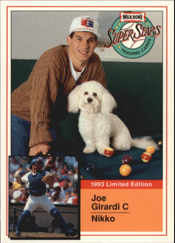 1993 Milk Bone Super Stars #18 Joe Girardi