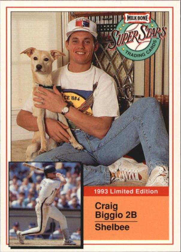 1993 Milk Bone Super Stars #20 Craig Biggio