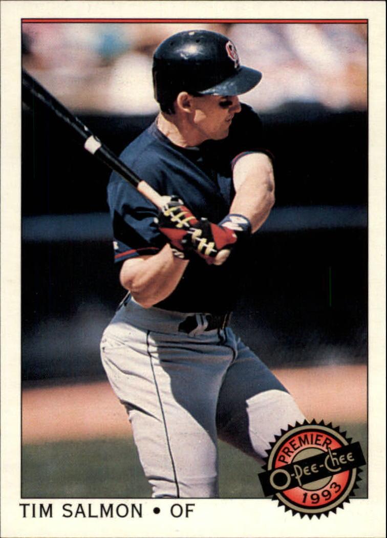 1993 O-Pee-Chee Premier #37 Tim Salmon