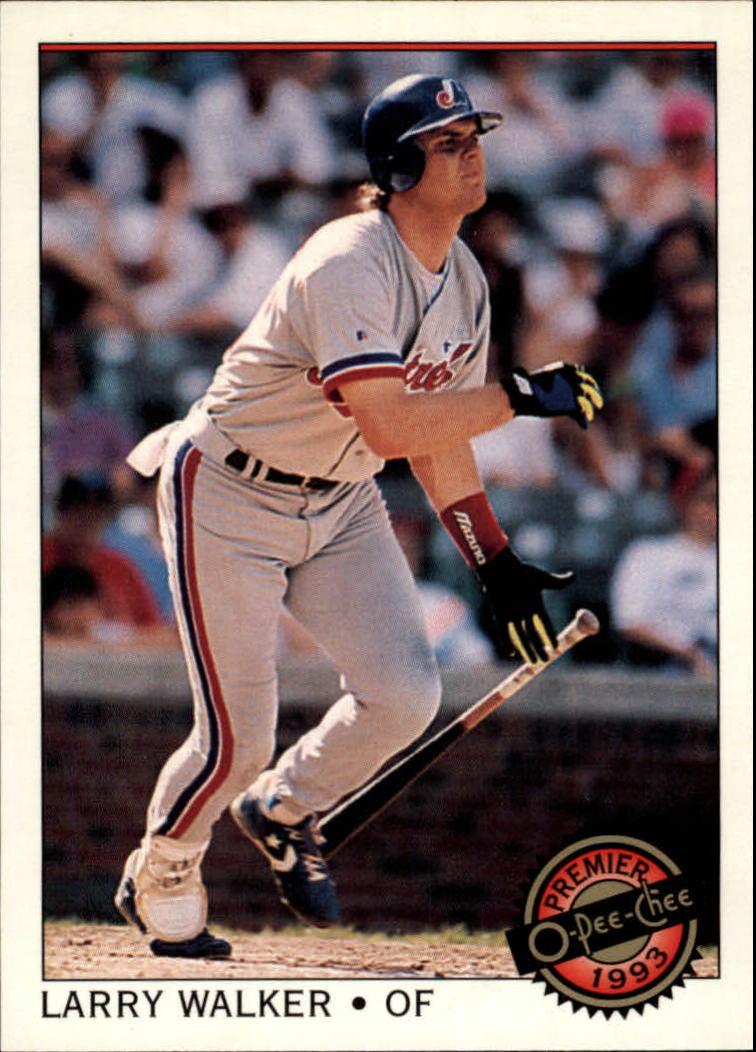 1993 O-Pee-Chee Premier #39 Larry Walker