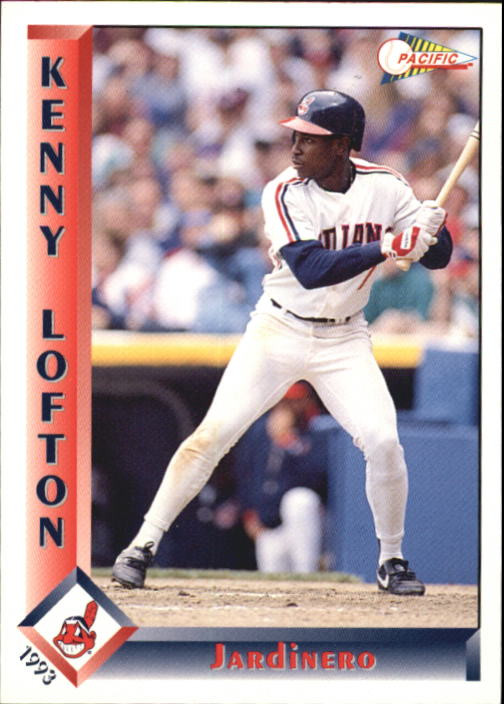 1993 Pacific Spanish #97 Kenny Lofton