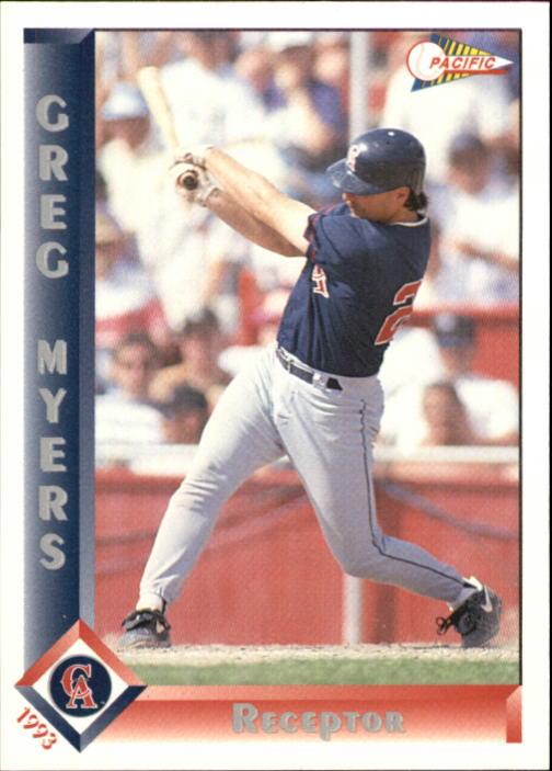 1993 Pacific Spanish #370 Greg Myers
