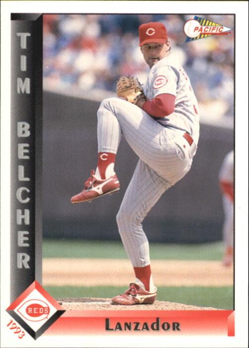 1993 Pacific Spanish #398 Tim Belcher
