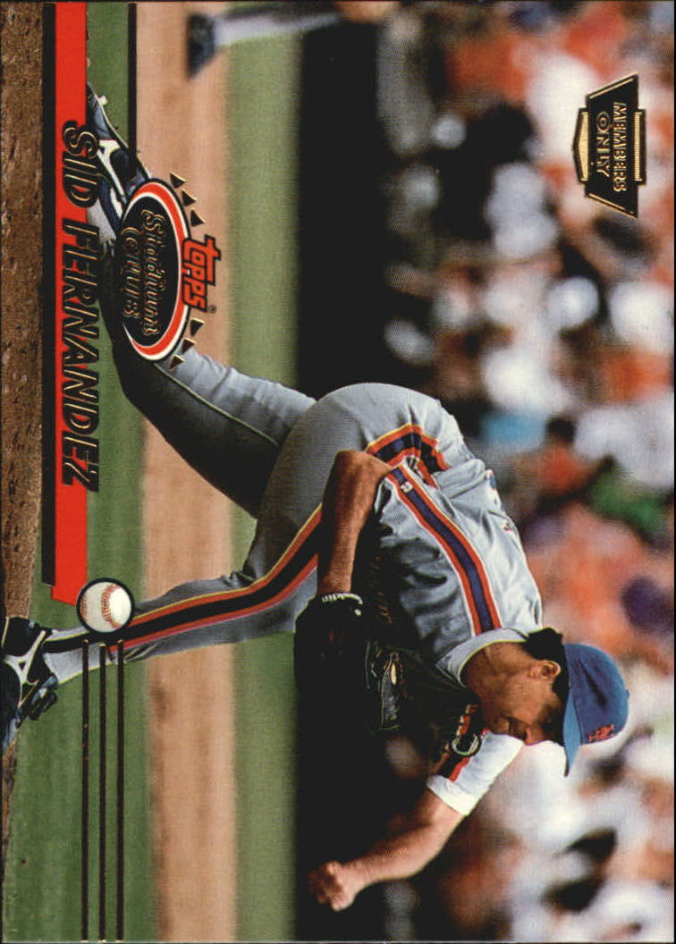 1993 Stadium Club Members Only Parallel #351 Sid Fernandez