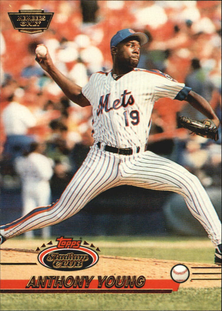 1993 Stadium Club Members Only Parallel #582 Anthony Young