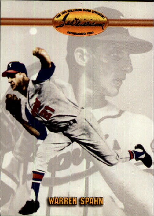 1993 Ted Williams #48 Warren Spahn