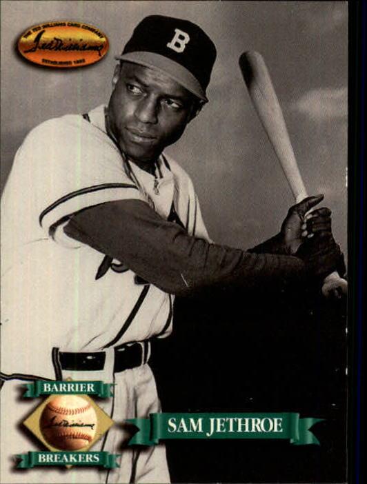 1993 Ted Williams #137 Sam Jethroe