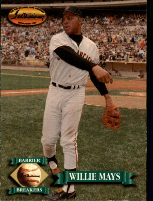 1993 Ted Williams #138 Willie Mays