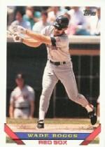 1993 Topps Micro #390 Wade Boggs