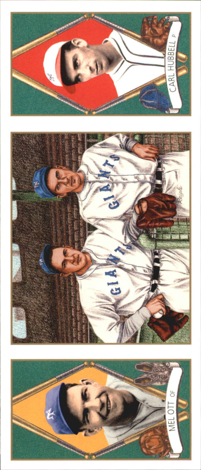 1993 Upper Deck All-Time Heroes #136 Mel Ott/Carl Hubbell