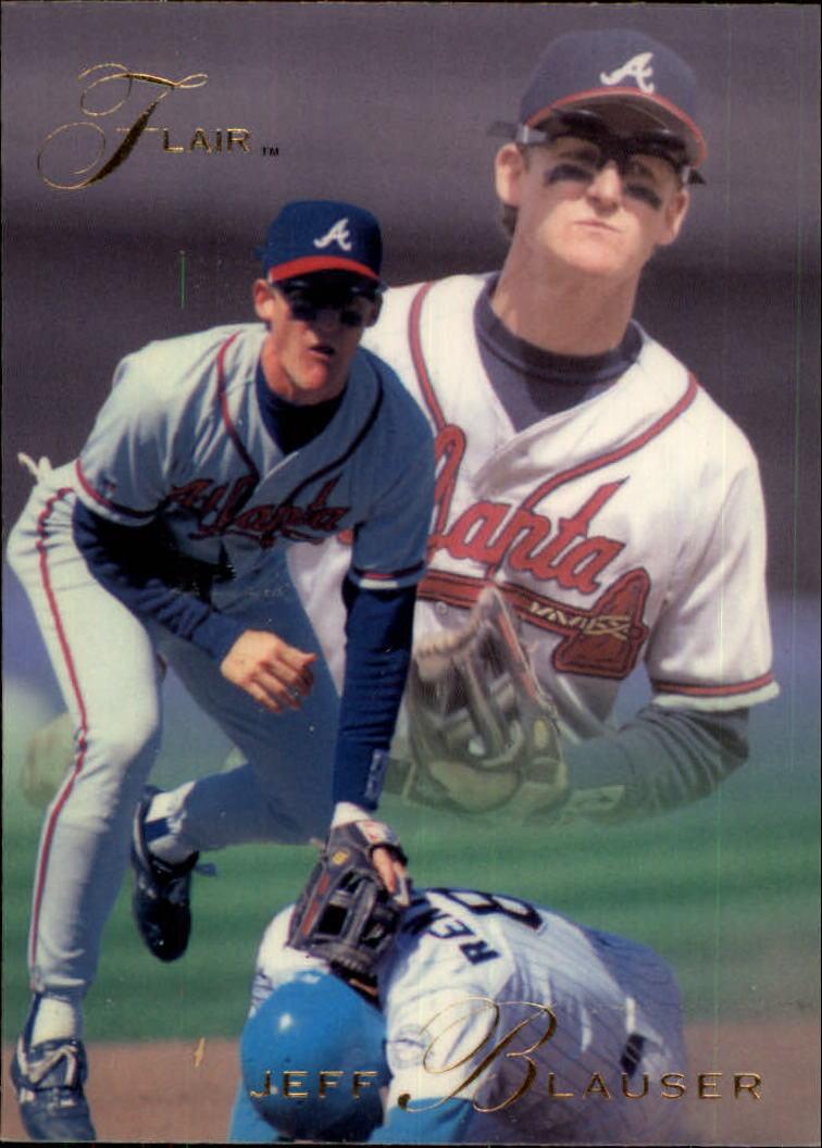 1993 Flair #2 Jeff Blauser