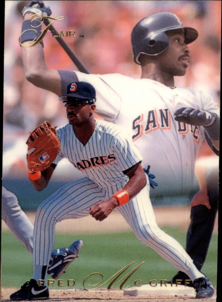1993 Flair #8 Fred McGriff