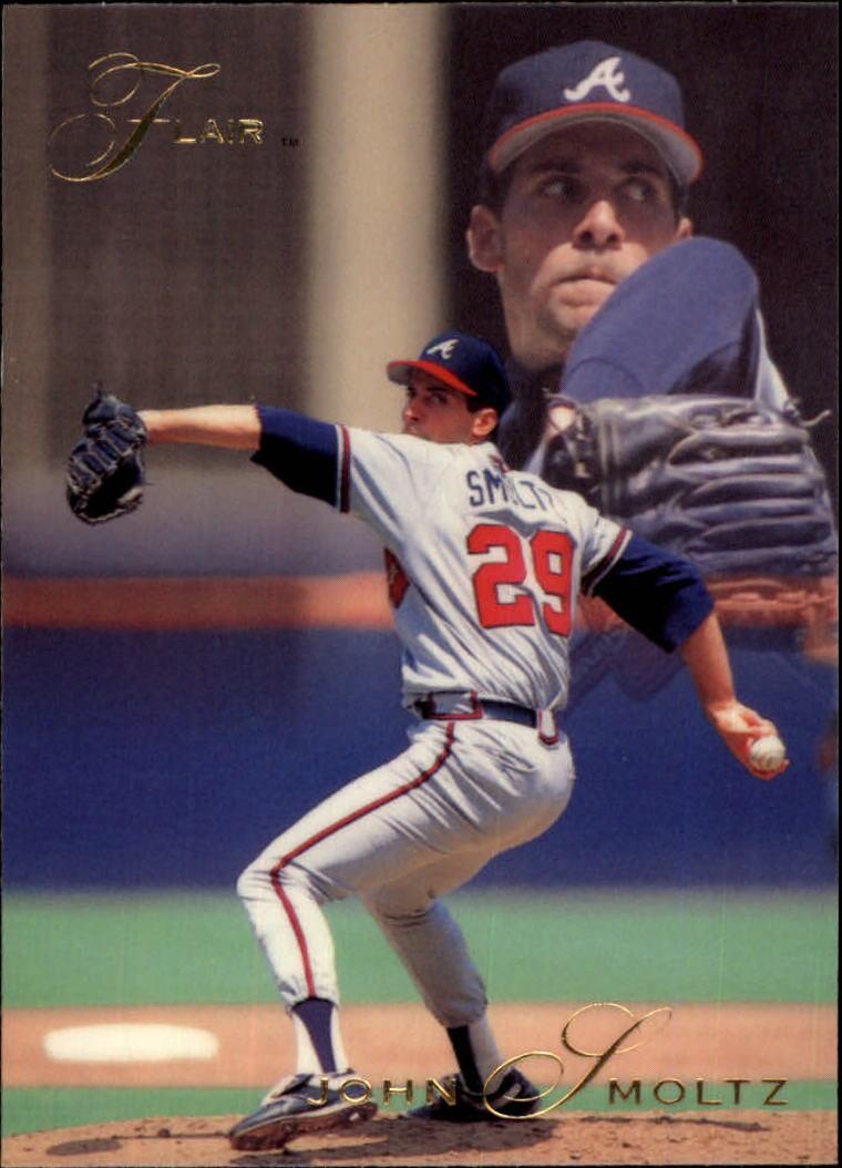 1993 Flair #11 John Smoltz
