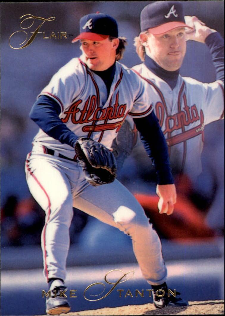 1993 Flair #12 Mike Stanton