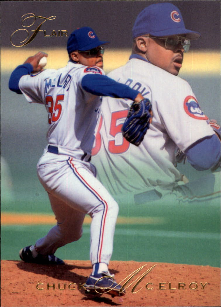 1993 Flair #17 Chuck McElroy
