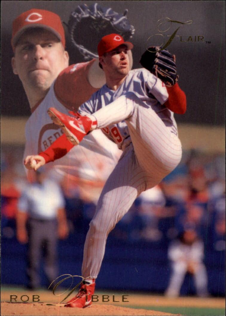 1993 Flair #25 Rob Dibble
