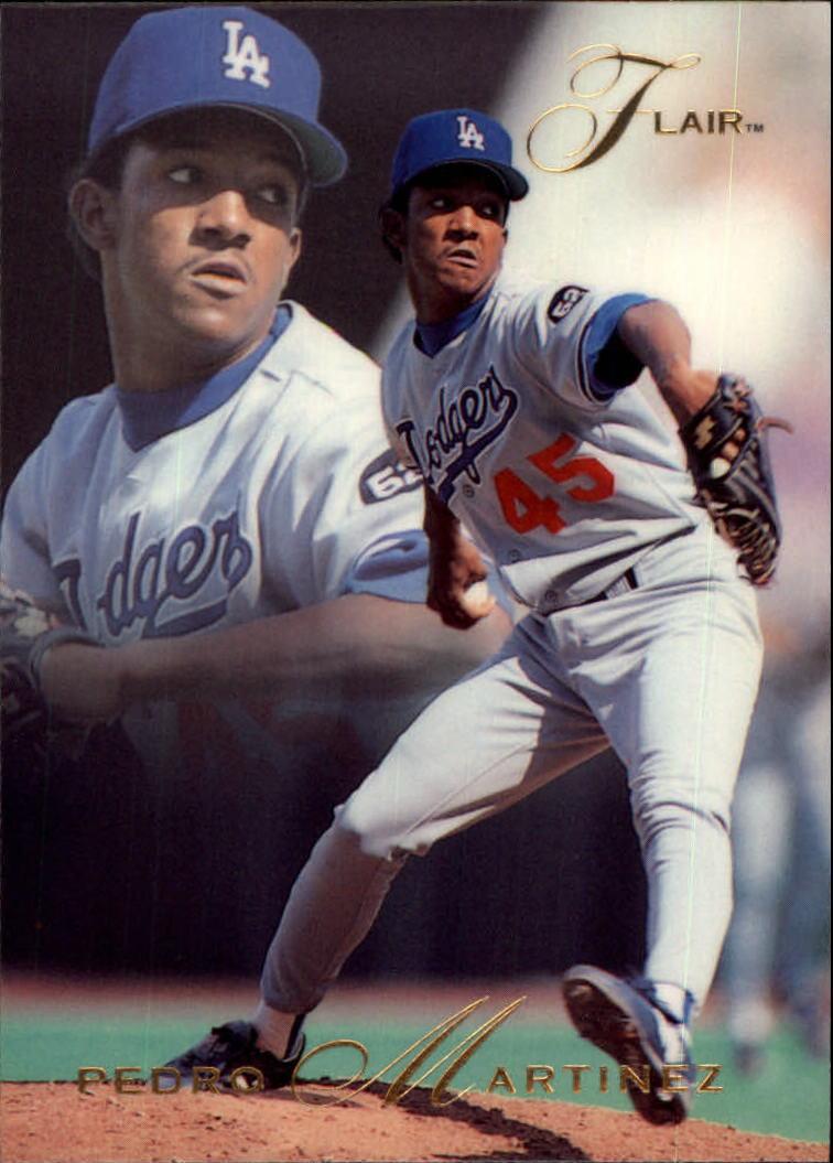 1993 Flair #72 Pedro Martinez