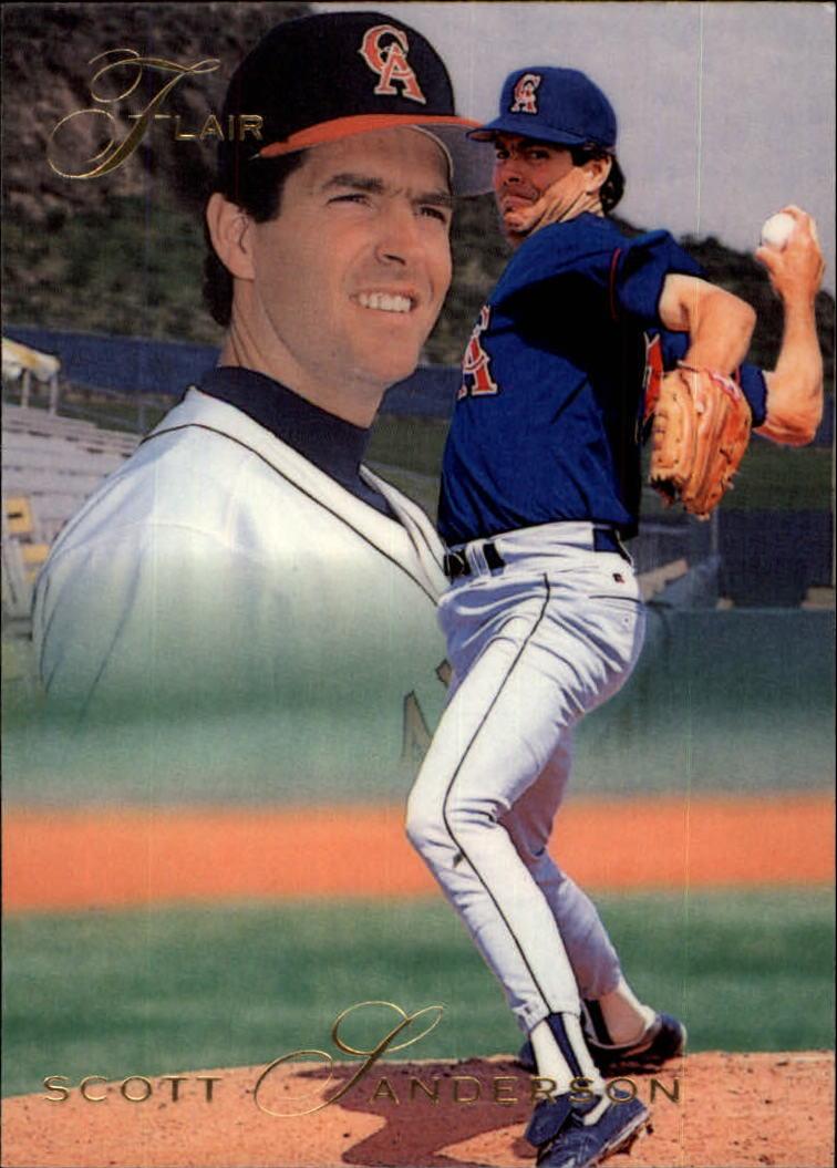 1993 Flair #178 Scott Sanderson