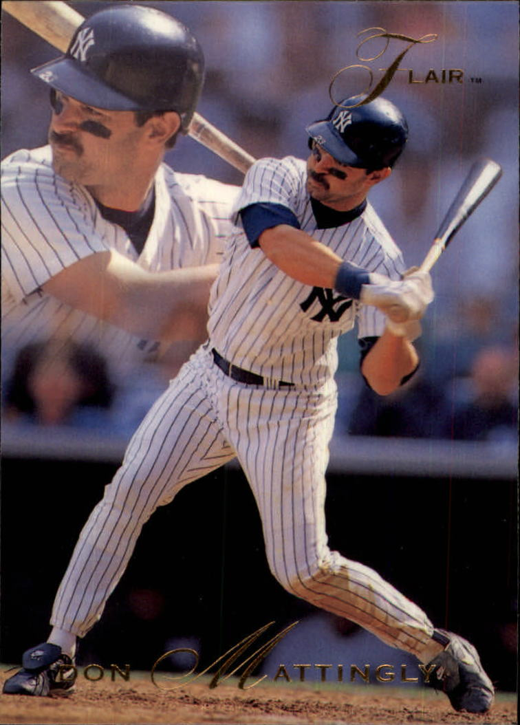 1993 Flair #249 Don Mattingly