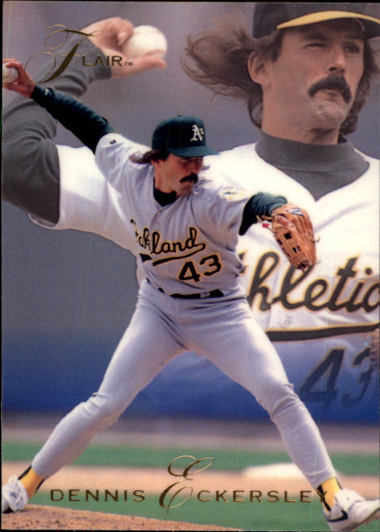 1993 Flair #257 Dennis Eckersley