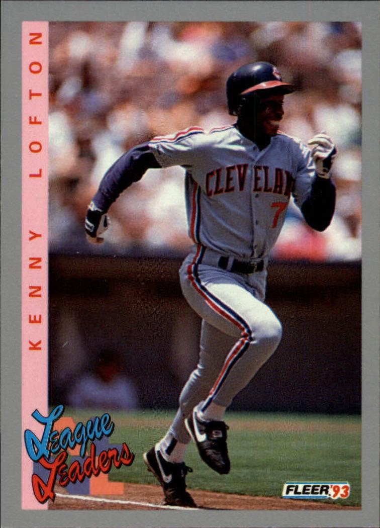 1993 Fleer #346 Kenny Lofton LL