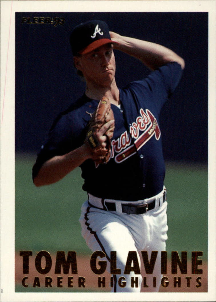 1993 Fleer Glavine #12 Tom Glavine