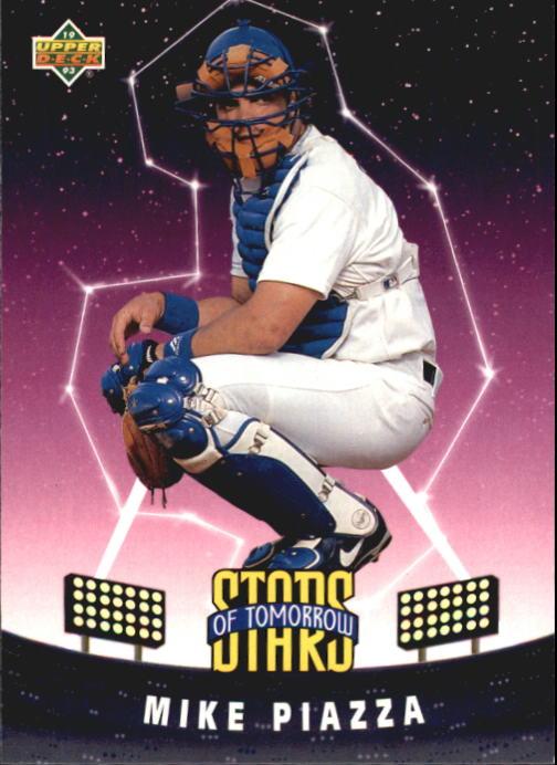 1993 Fun Pack #6 Mike Piazza