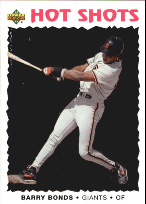 1993 Fun Pack #11 Barry Bonds HS